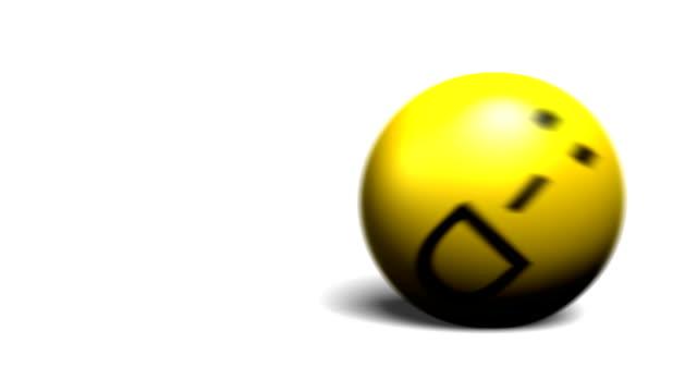 Smileys set – 3d rolling emoticons HD