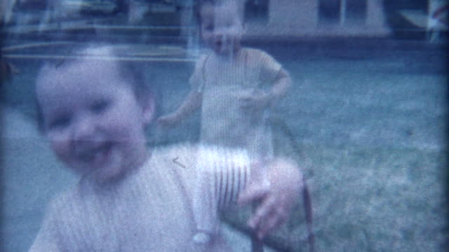 smiling baby 1960's - nostalgia stock videos & royalty-free footage