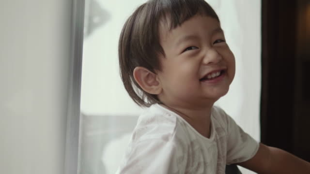 smiling baby - 12 23 months stock videos & royalty-free footage