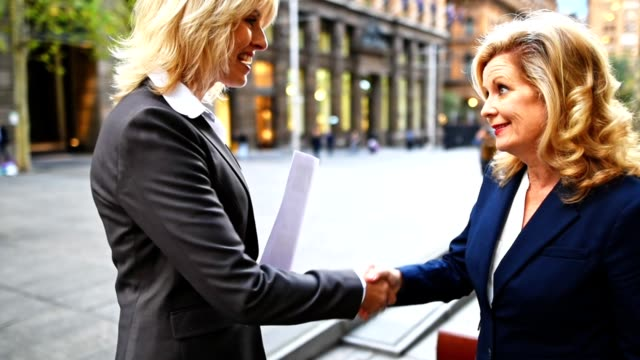 smiling businesswoman in the city of sydney - authority stock videos and b-roll footage