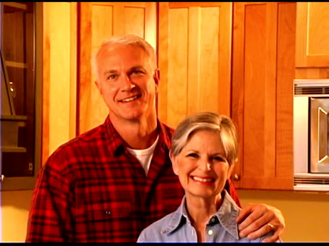 smiling couple indoors - bald head island stock videos & royalty-free footage