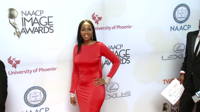 stockvideo's en b-roll-footage met jj smith at the 46th annual naacp image awards arrivals at pasadena civic auditorium on february 06 2015 in pasadena california - pasadena civic auditorium