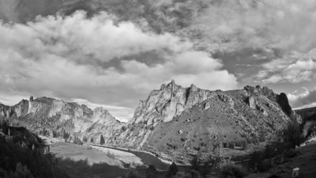 smith rocks day - grayscale stock videos and b-roll footage