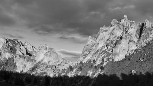 smith rocks day zoom - greyscale stock videos & royalty-free footage