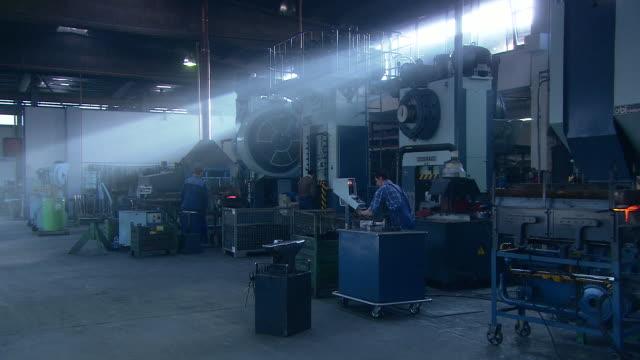 smithy at work - blacksmith stock videos & royalty-free footage