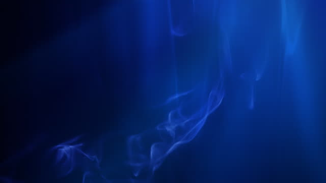 Smoke and blue light