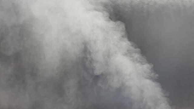 Smoke and glass
