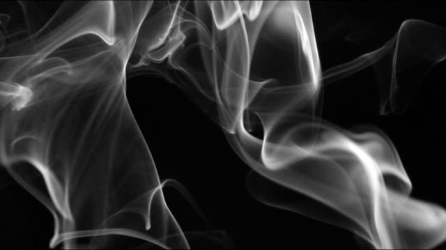 smoke background slowly swirls and whirls - grainy stock videos & royalty-free footage