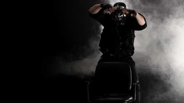 smoke extreme barber - barber chair stock videos & royalty-free footage