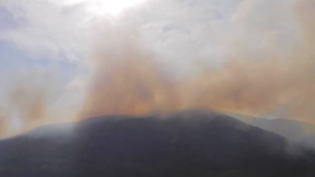 smoke from a moor fire - moor stock videos & royalty-free footage