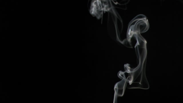 smoke in super slow motion rising - wispy stock videos and b-roll footage