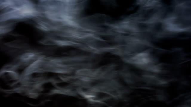 vídeos de stock e filmes b-roll de fumo em preto - vapor