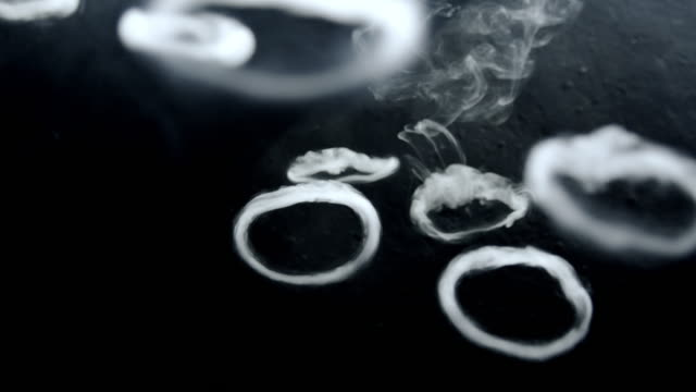 ms smoke rings - smoking issues stock videos & royalty-free footage