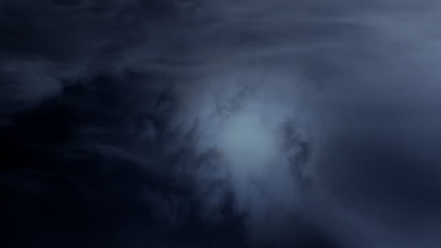 smoke slowly drifts over a bed of water. - cloud sky stock videos & royalty-free footage