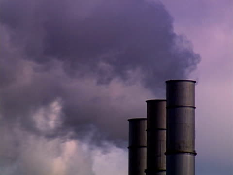 smoke stacks - small group of objects stock videos & royalty-free footage