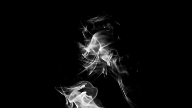 bw smoke - greyscale stock videos & royalty-free footage