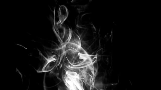 bw smoke - black and white stock videos & royalty-free footage