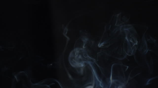 smoke - grayscale stock videos and b-roll footage