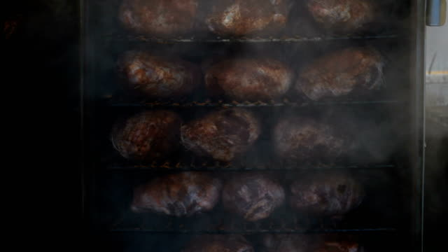 smoked meats - meat stock videos & royalty-free footage