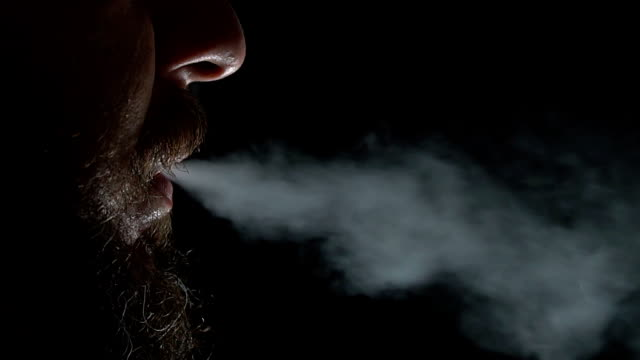 smoker in the dark - dependency stock videos & royalty-free footage