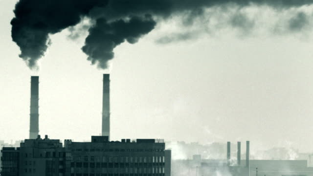 smokestack - climate stock videos and b-roll footage