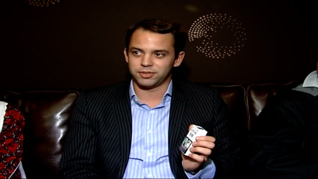 cigarette packets to display shocking images alexis komianos interview sot jasmine gillkhan interview sot steve anderson interview sot - gill stock videos and b-roll footage