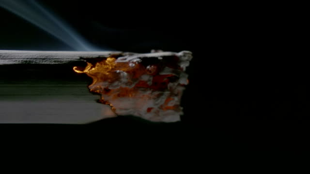 smoking cigarette - cigarette stock videos & royalty-free footage