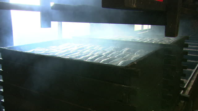 Smoking Fish In Process of Making Katsuobushi, Japan