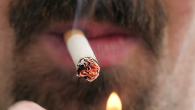 smoking series - cigarette stock videos & royalty-free footage