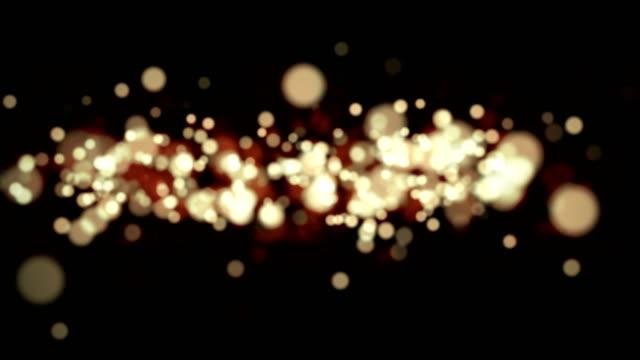 glatt und schön hintergrund partikel, weihnachten, geburtstag - fee stock-videos und b-roll-filmmaterial