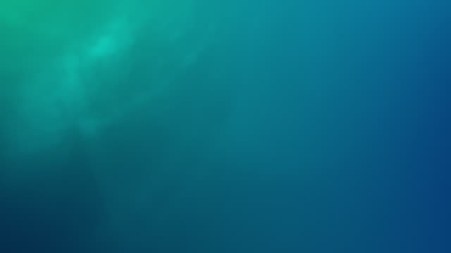Smooth, clean and abstract, Looped gradient background 4k Video for Underwater, Ocean, Hypnotising, Organic and Fairy Tale Concepts