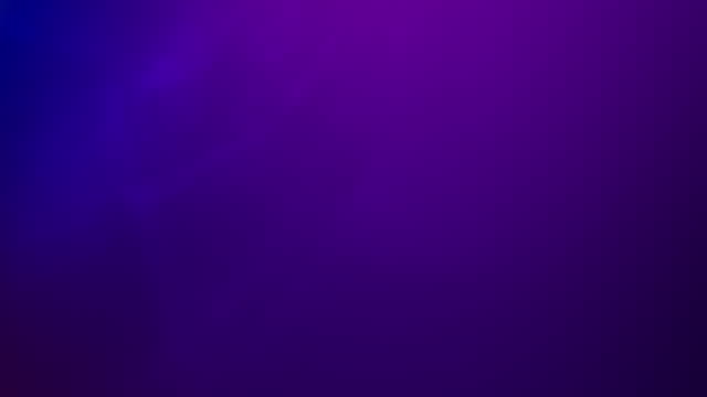 vídeos de stock e filmes b-roll de smooth, clean and abstract, looped gradient background 4k video for underwater, ocean, sky, clouds, hypnotising, organic and fairy tale concepts - purple - plano de fundo