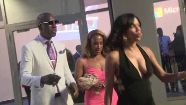 JB Smoove entering ESPYS after party in LA Celebrity Sightings on July 15 2015 in Los Angeles California
