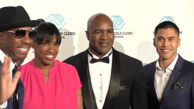 JB Smoove Jackie JoynerKersee Evander Holyfield at the 2015 Boys Girls Club Annual Great Futures Gala at Beverly Hilton Hotel in Beverly Hills in...