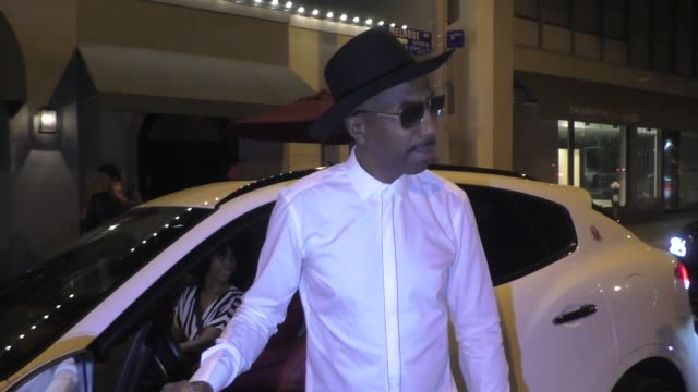 JB Smoove Shahidah Omar comments on Drake's lawsuit LeBron James Space Jam 2 after dinner at Craig's in West Hollywood in Celebrity Sightings in Los...