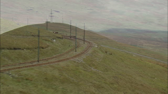 snaefell and mountain railway - isle of man stock videos & royalty-free footage