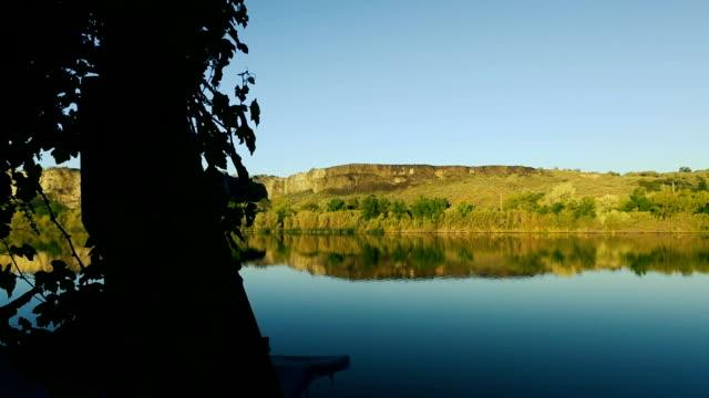 snake river at dusk - river snake stock videos & royalty-free footage