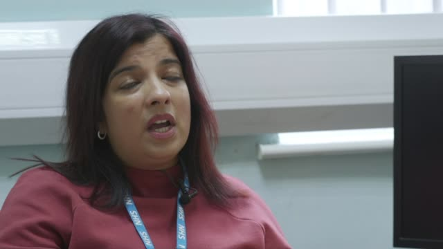 rise in people asking for plastic surgery to look like snapchat filters england int dr amita jassi interview sot - スナップチャット点の映像素材/bロール