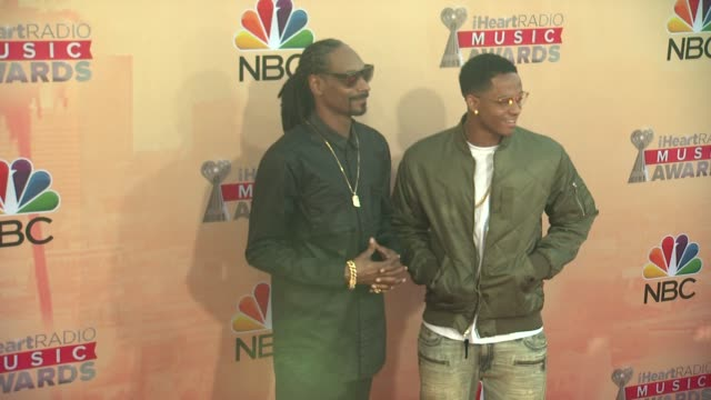 Snoop Dogg and Cordell Broadus at the 2015 iHeartRadio Music Awards Red Carpet Arrivals at The Shrine Auditorium on March 29 2015 in Los Angeles...