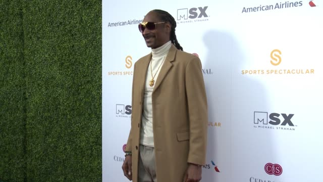snoop dogg at 33rd annual cedars-sinai sports spectacular in los angeles, ca 7/15/18 - snoop dogg stock videos & royalty-free footage