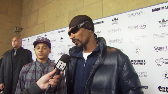 Snoop Dogg at the adidas Snoop Dogg Celebrate More Malice Deluxe Album And Mini Movie at Hollywood CA