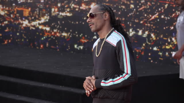 """snoop dogg at the """"once upon a time in hollywood"""" premiere at tcl chinese theatre on july 22, 2019 in hollywood, california. - snoop dogg stock videos & royalty-free footage"""