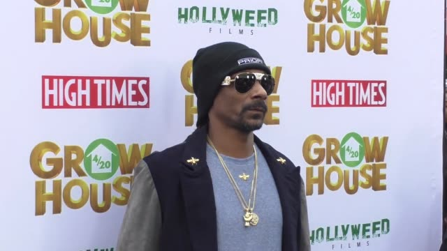 snoop dogg at the premiere of 'grow house' on april 17, 2017 in los angeles, california. - snoop dogg stock videos & royalty-free footage