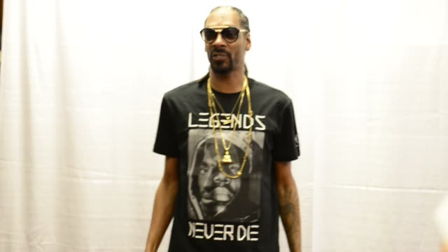 snoop dogg attends a meet and greet and partnership celebration with cuca fresca cachaça with a cocktail sampling event and bottle signing at 67... - cachaça stock videos & royalty-free footage