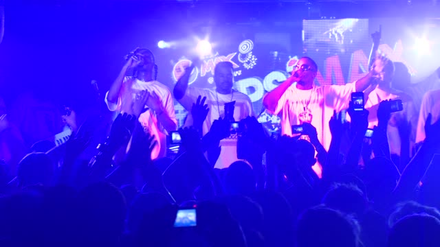 snoop dogg, korrupt, warren g, and sean p. 'diddy' combs at the snoop dogg's funk n soul extravaganza presented by pepsi max at 2011 sxsw music and... - snoop dogg stock videos & royalty-free footage
