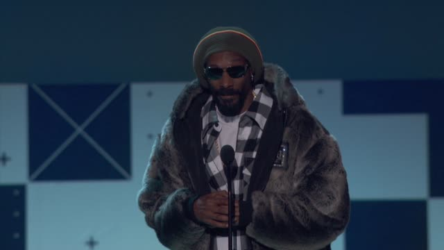 snoop lion at cartoon network hosts third annual hall of game awards on 2/9/13 in los angeles, ca . - snoop dogg stock videos & royalty-free footage
