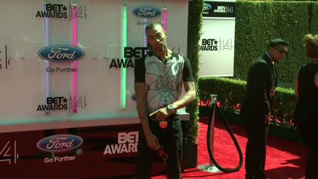 snootie wild at the 2014 bet awards on june 29 2014 in los angeles california - bet awards stock videos and b-roll footage