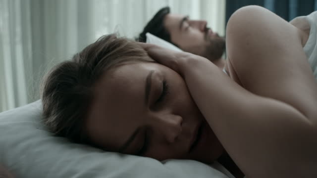 snoring - snoring stock videos and b-roll footage