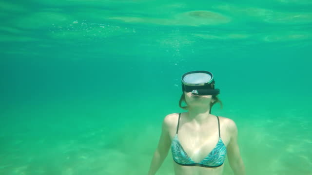 snorkling - 20 24 years stock videos & royalty-free footage