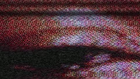 vídeos y material grabado en eventos de stock de tv snow, an eye and lines (loop). - mensaje de error
